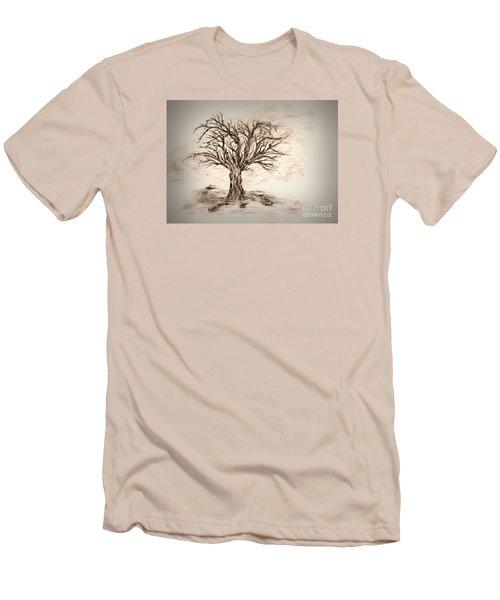 Enchanted 3 Men's T-Shirt (Slim Fit) by John Krakora