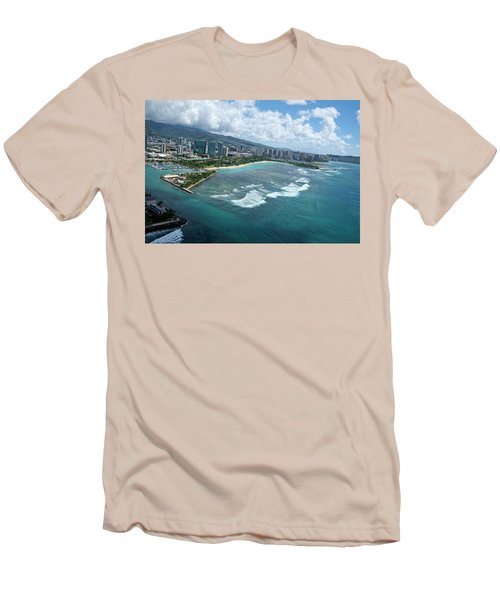 Endless Summer Men's T-Shirt (Slim Fit) by Lucinda Walter