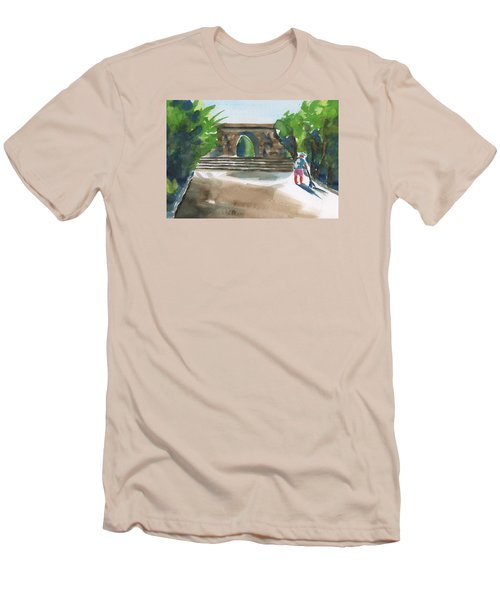 Entrance At Chankanaab Men's T-Shirt (Athletic Fit)