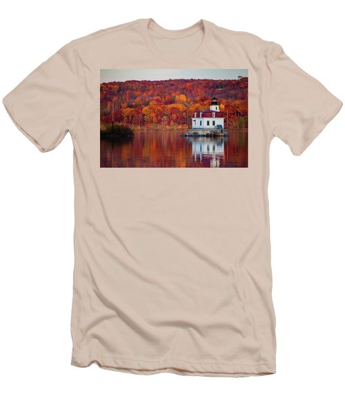 Esopus Lighthouse In Late Fall #1 Men's T-Shirt (Athletic Fit)