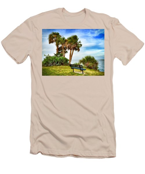Esperare Men's T-Shirt (Slim Fit) by Carlos Avila
