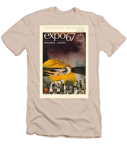 Expo 67 Men's T-Shirt (Slim Fit) by Andrew Fare