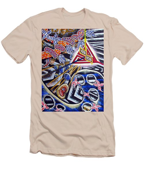 Expulsion Men's T-Shirt (Slim Fit) by Luke Galutia