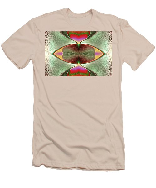 Men's T-Shirt (Slim Fit) featuring the photograph Eye C U  by Tony Beck