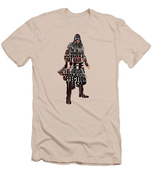 Ezio Auditore Da Firenze Men's T-Shirt (Slim Fit) by Ayse Deniz