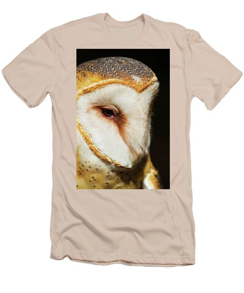 Men's T-Shirt (Slim Fit) featuring the photograph Face Of Athena by Arthur Dodd