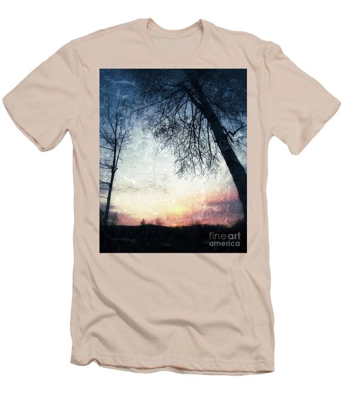 Fading Sunset Men's T-Shirt (Slim Fit) by Jason Nicholas