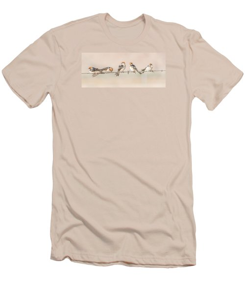 Fairy Martins Men's T-Shirt (Athletic Fit)