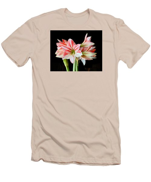 Fairyland Amaryllis  Men's T-Shirt (Slim Fit) by Janis Nussbaum  Senungetuk