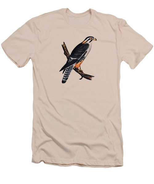 Falcon Aplomado Falcon Men's T-Shirt (Slim Fit) by Movie Poster Prints