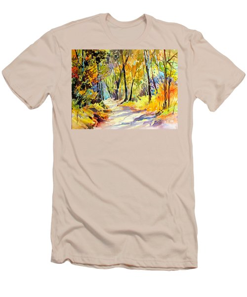 Fall Dazzle, Tennessee Men's T-Shirt (Slim Fit) by Rae Andrews