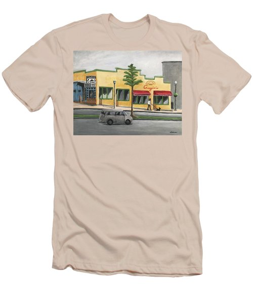 Falls Church Men's T-Shirt (Slim Fit) by Victoria Lakes