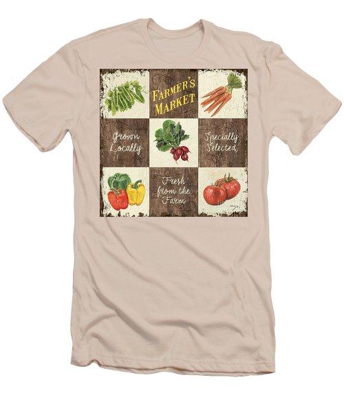 Farmer's Market Patch Men's T-Shirt (Athletic Fit)