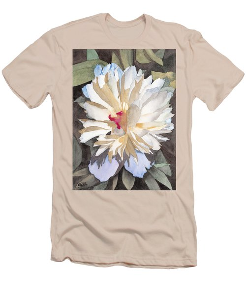 Feathery Flower Men's T-Shirt (Athletic Fit)
