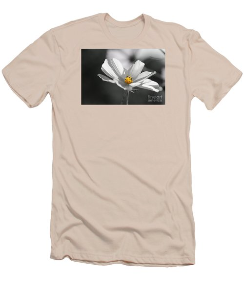 Men's T-Shirt (Slim Fit) featuring the photograph Feeling Fresh  by Yumi Johnson