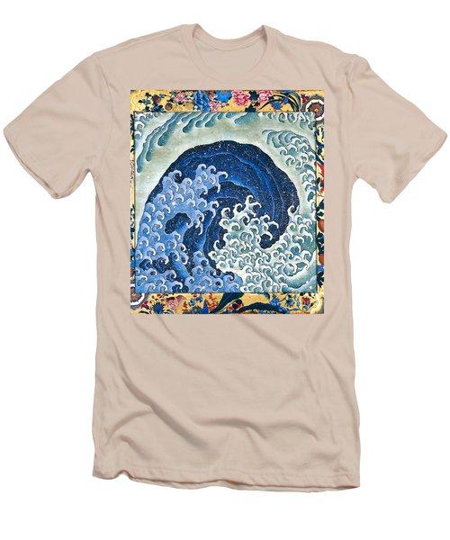 Femenine Wave Men's T-Shirt (Slim Fit) by Roberto Prusso