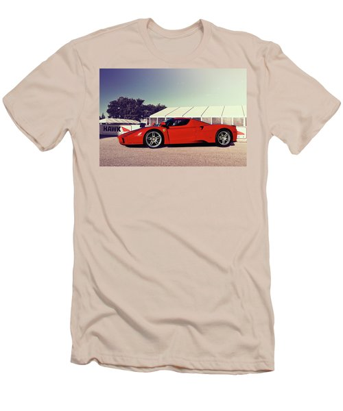 Men's T-Shirt (Slim Fit) featuring the photograph Ferrari Enzo by Joel Witmeyer