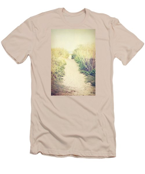 Men's T-Shirt (Slim Fit) featuring the photograph Finding Your Way by Trish Mistric