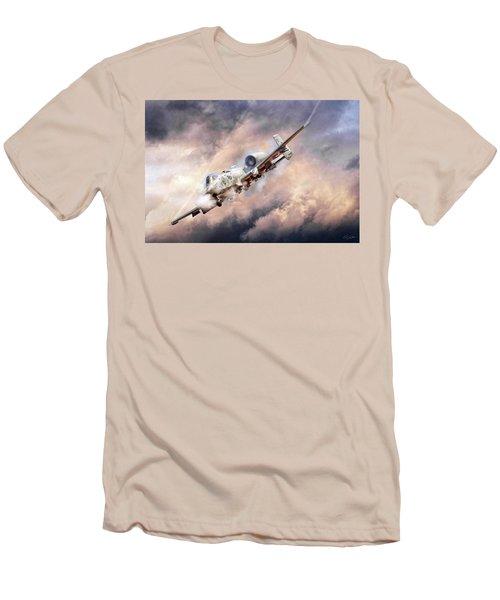 Firestorm Men's T-Shirt (Slim Fit) by Peter Chilelli