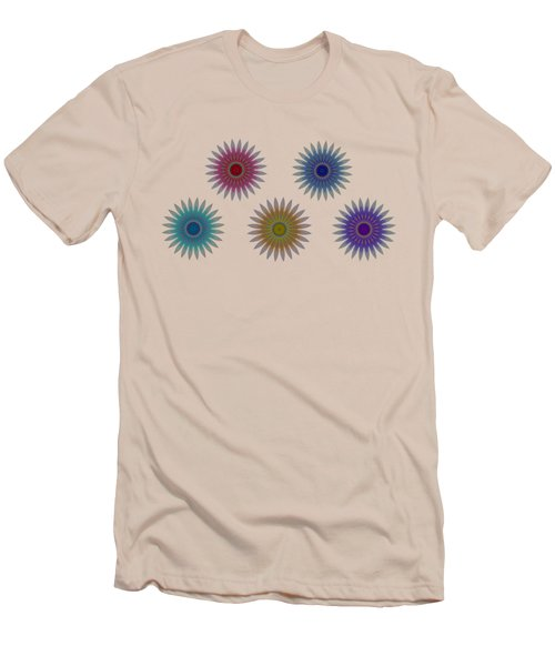 Five Flowers Men's T-Shirt (Athletic Fit)