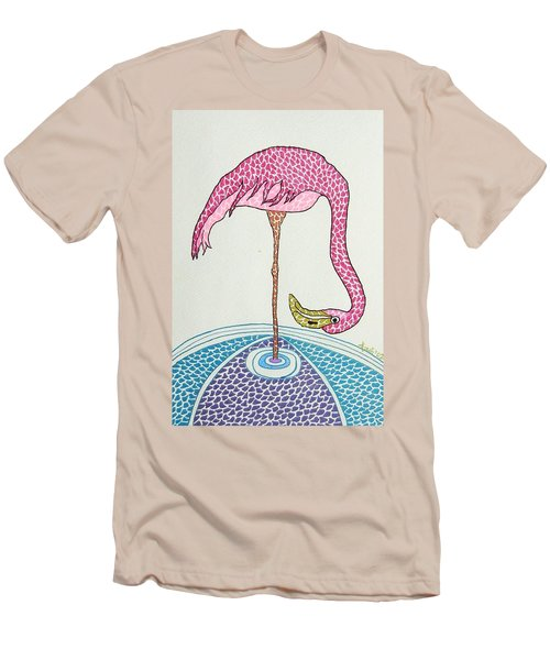 Flamingo I Men's T-Shirt (Athletic Fit)