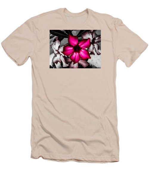Men's T-Shirt (Slim Fit) featuring the photograph Flower Dreams by Randy Sylvia