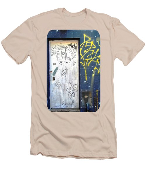 Men's T-Shirt (Slim Fit) featuring the photograph Flower Faces by Ethna Gillespie