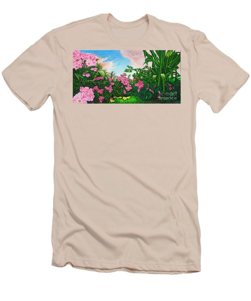 Flower Garden Xi Men's T-Shirt (Athletic Fit)