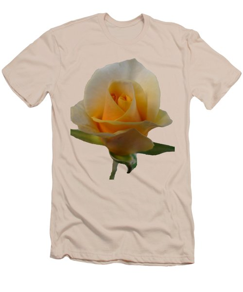 Flower Men's T-Shirt (Slim Fit) by Laurel Powell
