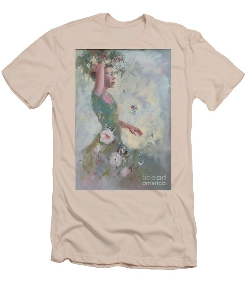 Flower Vender Men's T-Shirt (Athletic Fit)