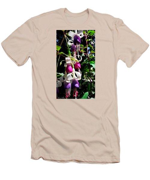 Men's T-Shirt (Slim Fit) featuring the photograph Flowers by Bernd Hau