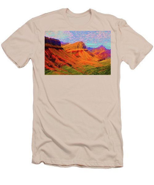 Flowing Rock Men's T-Shirt (Athletic Fit)