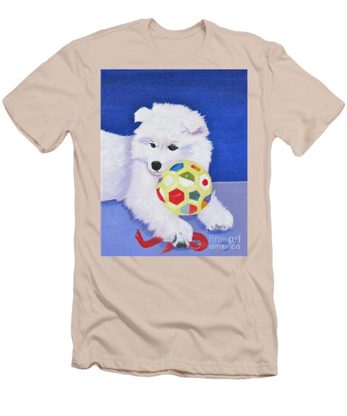 Fluffy's Portrait Men's T-Shirt (Athletic Fit)