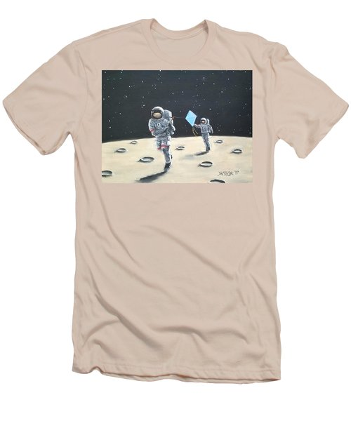 Fly A Kite Men's T-Shirt (Athletic Fit)