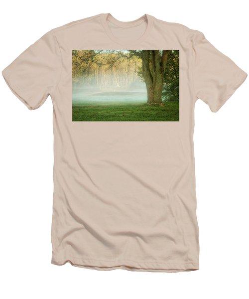 Foggy Morning Men's T-Shirt (Athletic Fit)