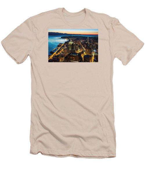 Follow The Yellow Brick Road Men's T-Shirt (Athletic Fit)
