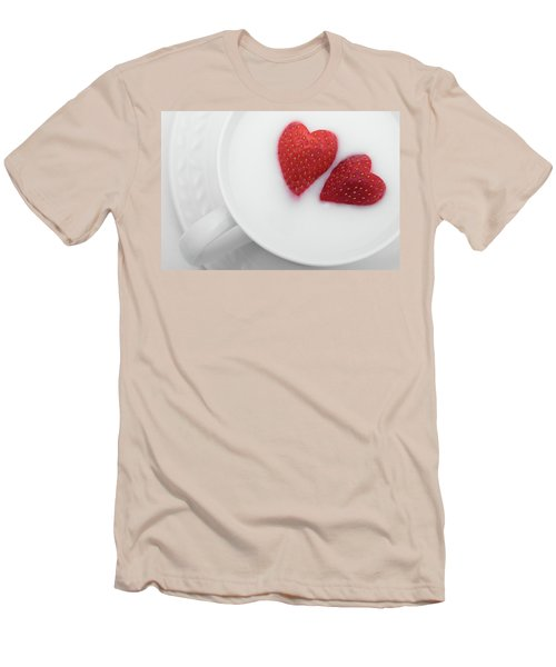 Men's T-Shirt (Slim Fit) featuring the photograph For Valentine's Day by William Lee