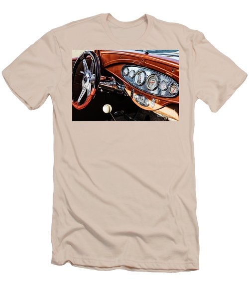Men's T-Shirt (Slim Fit) featuring the photograph Ford Coupe IIi by Brad Allen Fine Art