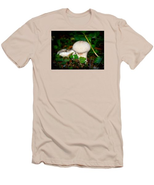 Forest Floor Mushroom Men's T-Shirt (Athletic Fit)