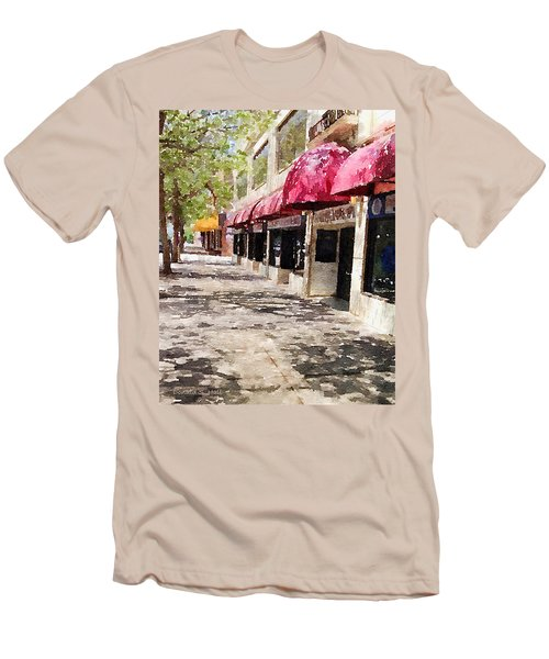 Fourth Avenue Men's T-Shirt (Slim Fit) by Donald S Hall