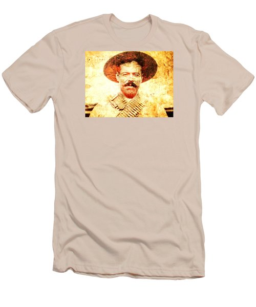 Francisco Villa Men's T-Shirt (Slim Fit) by J- J- Espinoza
