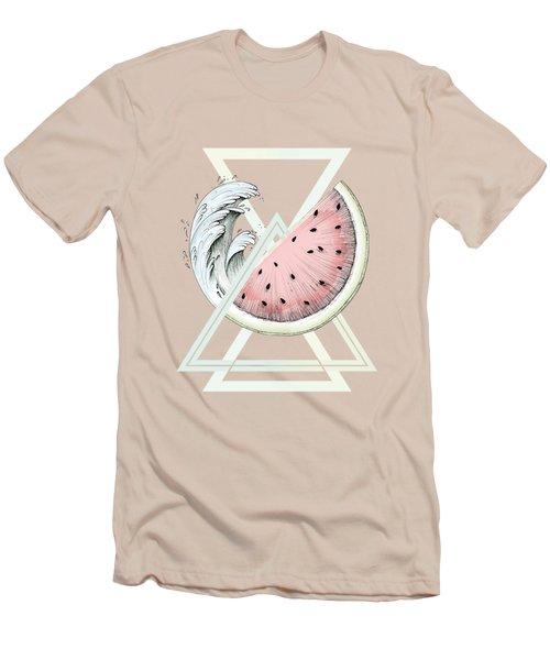 Fresh Men's T-Shirt (Slim Fit) by Barlena