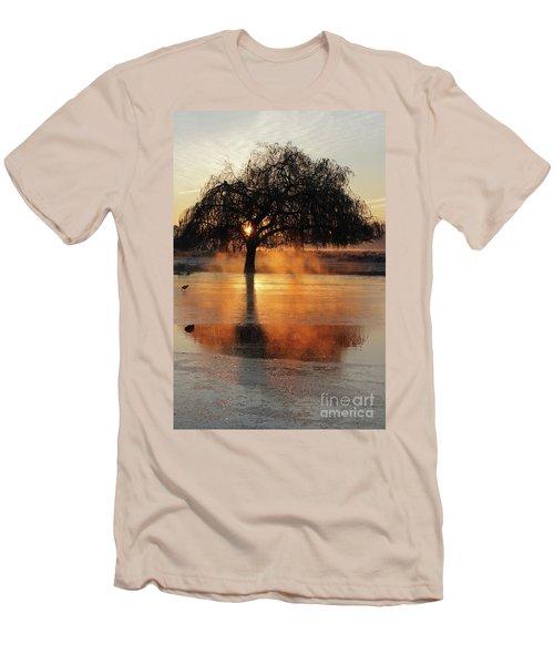Frosty Sunrise In Bushy Park London 2 Men's T-Shirt (Athletic Fit)