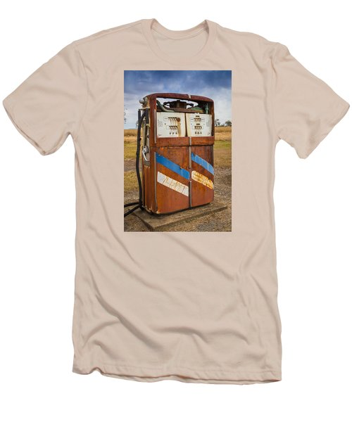 Men's T-Shirt (Slim Fit) featuring the photograph Fuel Pump by Keith Hawley