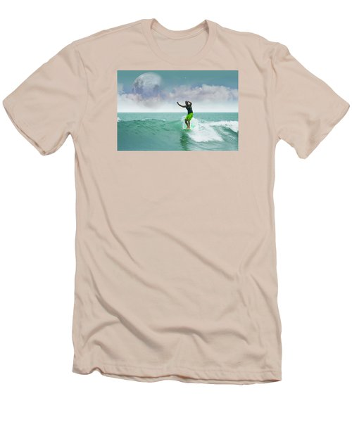 Funday Sunday Men's T-Shirt (Slim Fit) by William Love