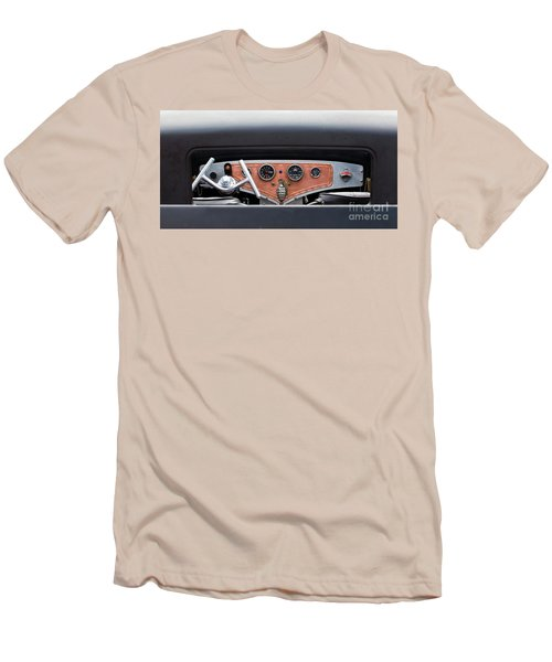 Men's T-Shirt (Slim Fit) featuring the photograph Funny Car Dash by Chris Dutton