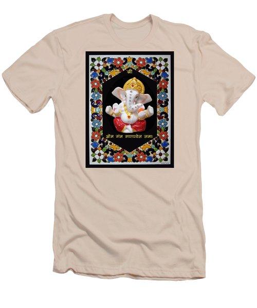 Ganesha Frame Men's T-Shirt (Athletic Fit)