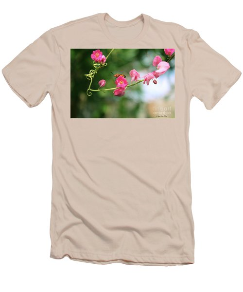 Men's T-Shirt (Athletic Fit) featuring the photograph Garden Bug by Megan Dirsa-DuBois