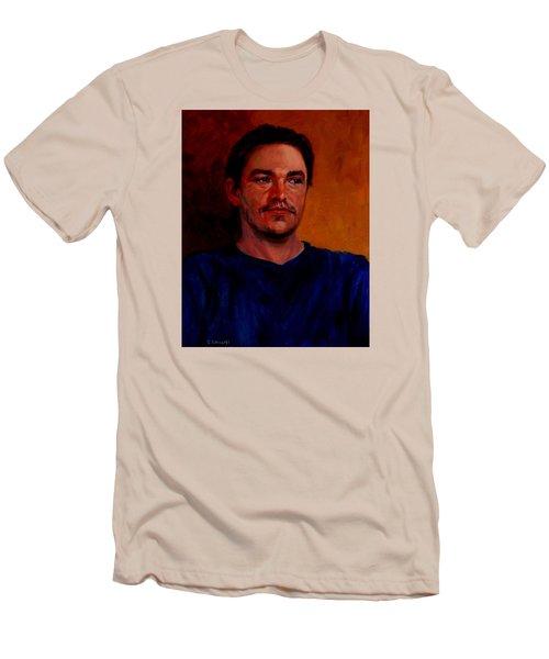 Garrett Men's T-Shirt (Slim Fit) by Connie Schaertl