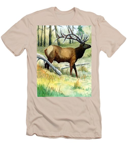 Gash Flats Bull Men's T-Shirt (Athletic Fit)